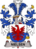 Danish Coat of Arms for Nielsen