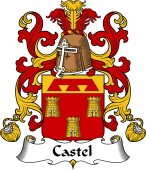 Coat of Arms from France for Castel