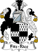 Irish Coat of Arms for Fitz-Rice