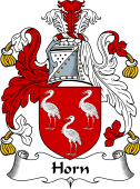 English Coat of Arms for Horn