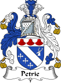 Scottish Coat of Arms for Petrie