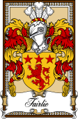 Scottish Coat of Arms Bookplate for Fairlie