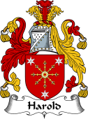 Irish Coat of Arms for Harold or Harrell
