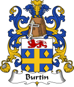 Coat of Arms from France for Burtin