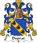 Coat of Arms from France for Duprat
