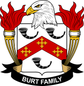 American Coat of Arms for Burt