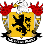 American Coat of Arms for Matthews