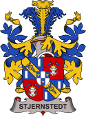 Swedish Coat of Arms for Stjernstedt