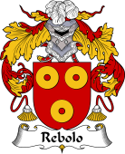 Portuguese Coat of Arms for Rebolo
