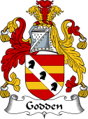 English Coat of Arms for Godden
