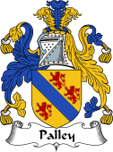 English Coat of Arms for Palley
