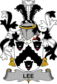 Irish Coat of Arms for Lee or O'Lee
