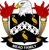 American Coat of Arms for Mead