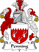 English Coat of Arms for Penning