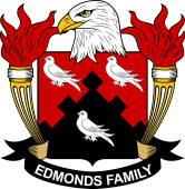 American Coat of Arms for Edmonds