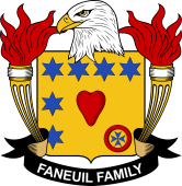 American Coat of Arms for Faneuil