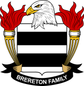 American Coat of Arms for Brereton