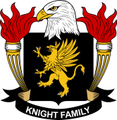 American Coat of Arms for Knight