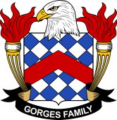 American Coat of Arms for Gorges