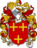 English or Welsh Coat of Arms for Crosley