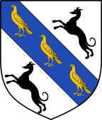 Coat of Arms from France for Scroggs or Scruggs