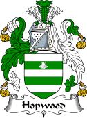 English Coat of Arms for Hopwood