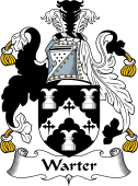 English Coat of Arms for Warter