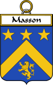 French Coat of Arms Badge for Masson