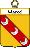 French Coat of Arms Badge for Marcel