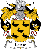 Portuguese Coat of Arms for Leme