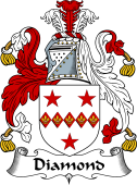 English Coat of Arms for Diamond
