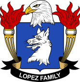 American Coat of Arms for Lopez