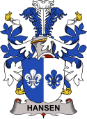 Danish Coat of Arms for Hansen