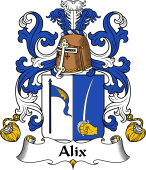 Coat of Arms from France for Alix