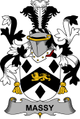 Irish Coat of Arms for Massy or Massey