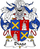 Spanish Coat of Arms for Diago
