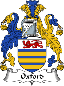 English Coat of Arms for Oxford