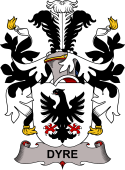 Danish Coat of Arms for Dyre