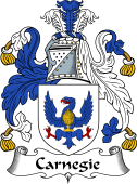 Scottish Coat of Arms for Carnegie