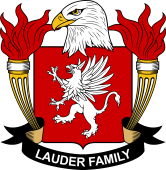 American Coat of Arms for Lauder