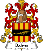 Coat of Arms from France for Balme