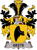 Swedish Coat of Arms for Geete