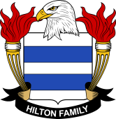 American Coat of Arms for Hilton