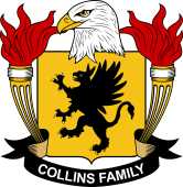 American Coat of Arms for Collins