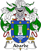 Spanish Coat of Arms for Adarbe