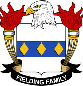 American Coat of Arms for Fielding