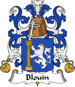 Coat of Arms from France for Blouin