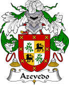 Spanish Coat of Arms for Azevedo