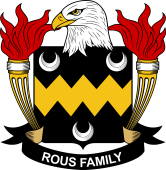 American Coat of Arms for Rous
