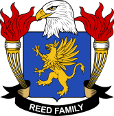 American Coat of Arms for Reed